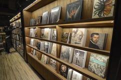 A modern bookshop Stock Images