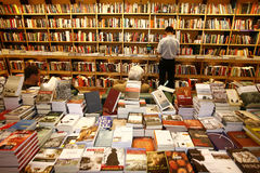 Modern bookstore Royalty Free Stock Photography