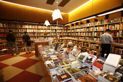 Modern bookstore Royalty Free Stock Images