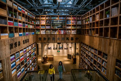 Modern bookstore Royalty Free Stock Image