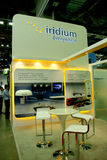 Modern booth design. In exhibition, communicasia booth 2013 royalty free stock images