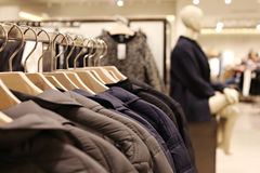 Modern boutique interior Royalty Free Stock Photo