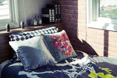 Modern boy's bedroom. Interior of home Royalty Free Stock Image