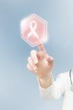 Modern bröstcancerbehandling arkivbild