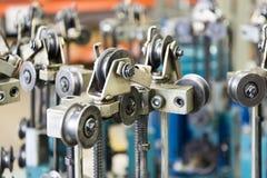 Modern braiding machine. Royalty Free Stock Image