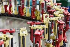 Modern braiding machine. Stock Photo