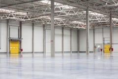 Modern, Brand New Storehouse. Modern, Empty, Brand New, Huge Storehouse Stock Photos