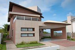 Modern Braziliaans Huis stock afbeelding