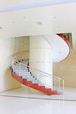 With the modern breath stair rotates in a building Royalty Free Stock Photography