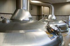 Modern Brewery Stock Photo