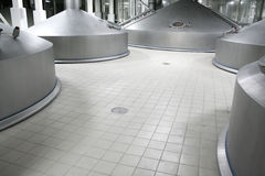 Modern brewery Stock Images