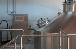 Modern Brewery Stock Image