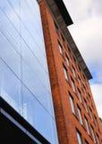 Modern brick building Stock Photo