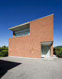 Modern brick house Stock Photos