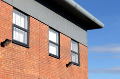 Modern brick office building Royalty Free Stock Photo
