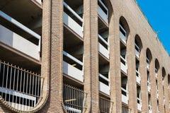 Modern Brick Parking Garage Royalty Free Stock Images