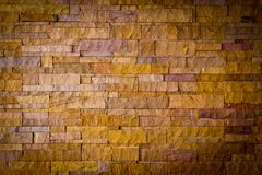 Modern brick stone wall Royalty Free Stock Image
