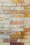 A modern brick wall Royalty Free Stock Photo