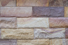 Modern brick wall abstract background Stock Photo