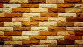 Modern brick wall background texture. Modern colourful brick wall background texture Royalty Free Stock Images