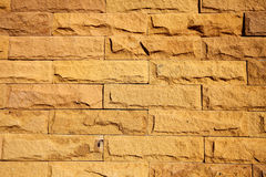 Modern Brick Wall Surfaced Royalty Free Stock Photography