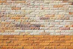 Modern Brick Wall texture Royalty Free Stock Photo