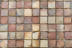 Modern brick wall texture background Royalty Free Stock Photos