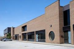 Modern brick warehouse Stock Photography