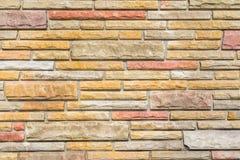 Modern Bricks Texture Stock Photography