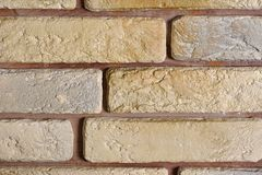 Modern brickwork Stock Photo