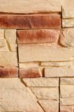 Modern brickwork Stock Photos