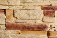 Modern brickwork Stock Photography