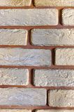 Modern brickwork Royalty Free Stock Photos