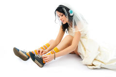 Modern bride Stock Photos