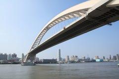 Modern bridge Royalty Free Stock Images