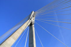 Modern bridge Royalty Free Stock Images