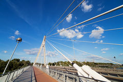 Modern Bridge Abstract Architecture Stock Photography
