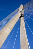 Modern Bridge Abstract Architecture Royalty Free Stock Photos