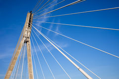 Modern Bridge Abstract Architecture Royalty Free Stock Images