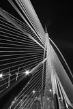 Modern Bridge Architecture - Jambatan Seri Wawasan Royalty Free Stock Photos