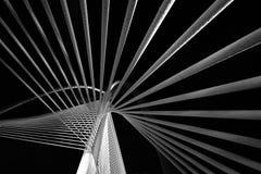 Modern bridge architecture Stock Images