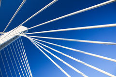 Modern bridge construction Stock Photography
