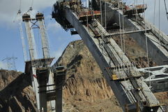 Modern Bridge Construction Royalty Free Stock Images
