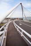 modern bridge construction Stock Photos