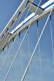 Modern bridge detail Stock Images