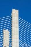 Modern bridge fragment Stock Images