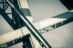 Modern Bridge frame closeup Royalty Free Stock Image
