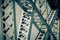 Modern Bridge frame closeup Royalty Free Stock Images