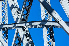 Modern Bridge frame closeup Stock Images