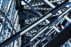 Modern Bridge frame closeup Stock Images